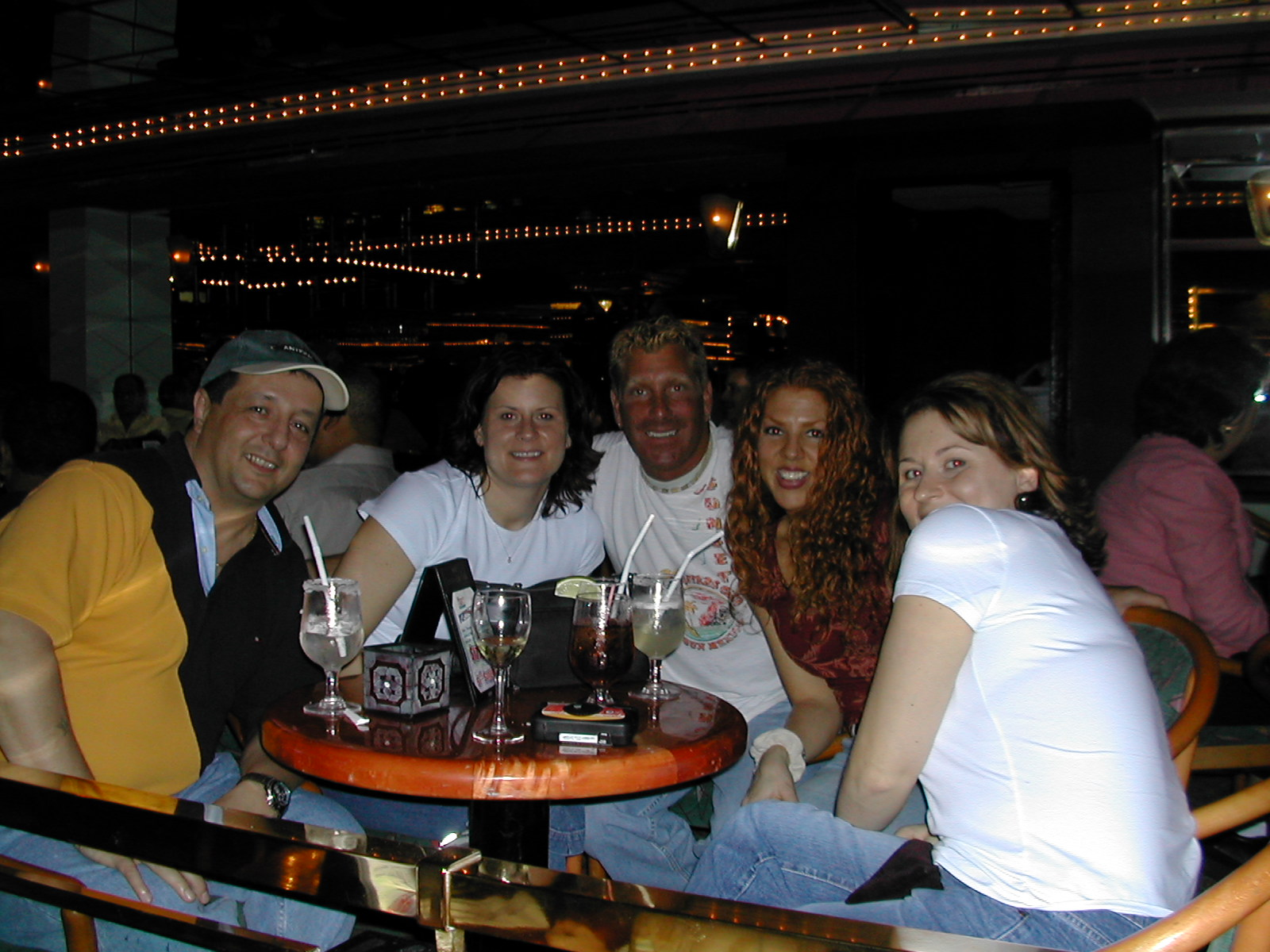 L->R ? Michelle,Joe,Amanda(Red) andAnnMarie