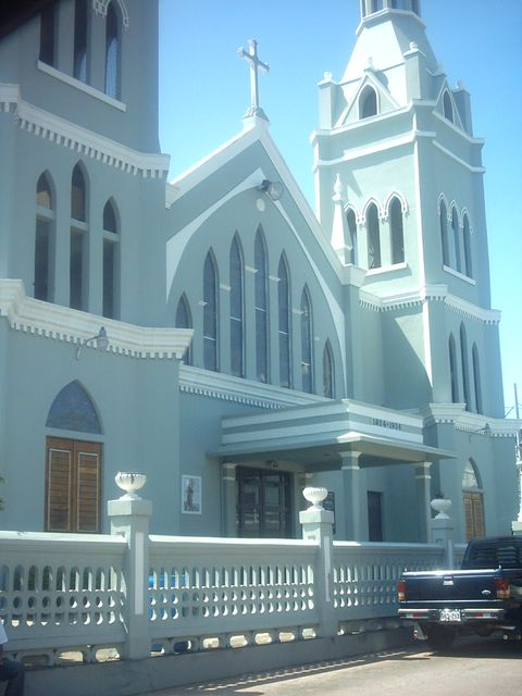 Anasco Town church