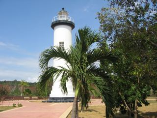 lighthouse at rincon puerto rico